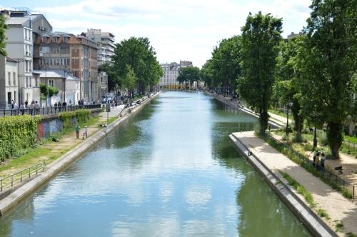 Picnic sur les bords du Canal St Martin