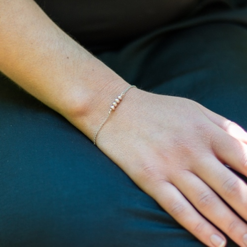 Desidero - Collection Hilda - Bracelet uni perles
