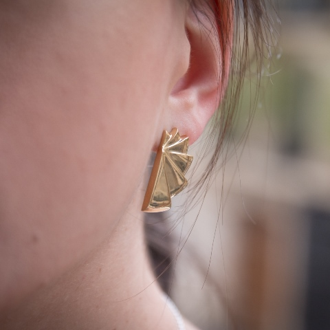 Desidero - Lookbook PE 2016 - Collection Bestiaire Imaginaire - Boucles d'oreilles vermeil