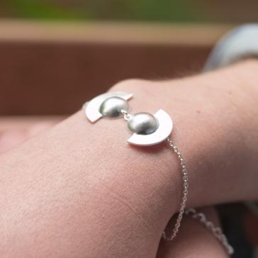 Desidero Paris Blog - Collection Saturne par Desidero - Bracelet argent