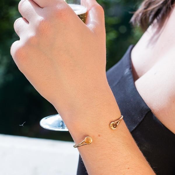 Desidero - Collection Désirée - Bracelet - Citrine