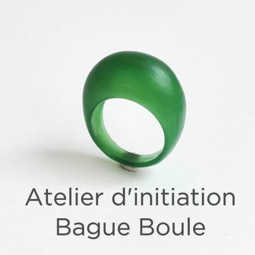 Atelier d'initiation - Bague Boule